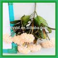 Flor artificial heads, Flor artificial para a decoração da parede, Flores artificiais em vasos decorativos