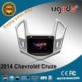 nueva pantalla táctil del coche reproductor de dvd para el chevrolet cruze ciado para 2014