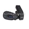 1200m Full duplex V8 -1200 bluetooth helmet intercom NFC function