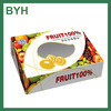 fruit packaging boxes with pvc window