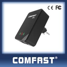 COMFAST CF-WP200M ethernet over powerline adapter 200Mbps homeplug plc communication av