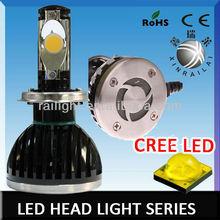 24w or 28w new Super Bright car h4 led headlight bulbs Fan Heatsink Build-in10v-32vDC