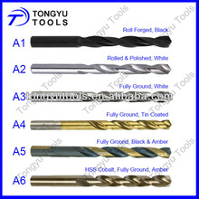 Drilling Hard Metal and Stainess Steel Use Cobalt HSS Fully Ground Drill Bits
