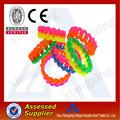 Werbe geflochten silikon-armbänder