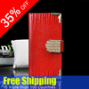 Wholesale Leather Wallet Flip Mobile Phone Case Card Holder for iPhone 5 5G Lizard Pattern leather case