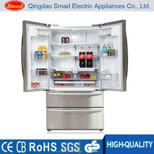 542L francés puerta de su casa usado refrigerador precio con luz de bloqueo de teclas