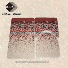 Cheap Printed PVC backing bath rug