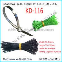 Shanghai manufactor Plastic tags ,zip ties KD-116