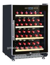 Single zone 39-52bottle SRW-54S auto defrost compressor wine fridge