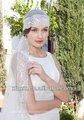 2014 آخر مخصص-- صنع طبقة واحدة مطرز بنت الحجاب زفافي