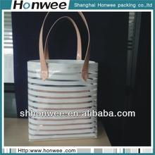 2014 fashional soft waterproof tote eva bag with zipper