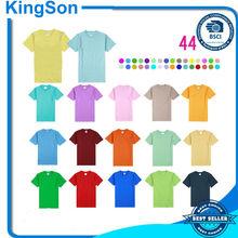 wholesale t shirts cheap t shirts in bulk plain with 44 colors