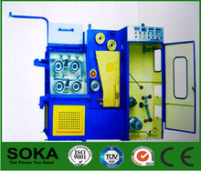Soka small fine copper wire cable making equipment with online annealer