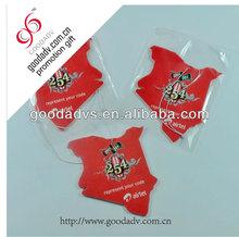 New style popular custom size shape car fragrance paper air freshener
