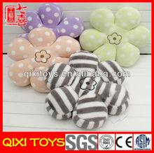 Wholesale soft plush toy flower shaped pillow