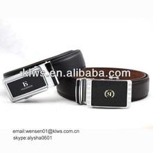 2014 popular men plain automatic buckle belt