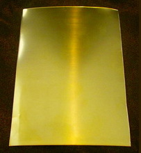 Model number C7521 perforated brass sheet metal