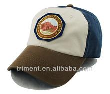New style cotton baseball emblem badge cap