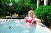 New European style whirlpool foot spa portable bathtub(S601)