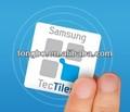 nuevo estilo y diseño logotipo personalizado adhesivo fuerte Samsung pegatina de logo