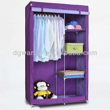 2015 modular bedroom set fabric wardrobe