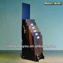 CC stable advertising store flooring MDF display rack