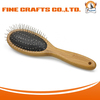 Finepet carbonized bamboo grooming pet dog brushes