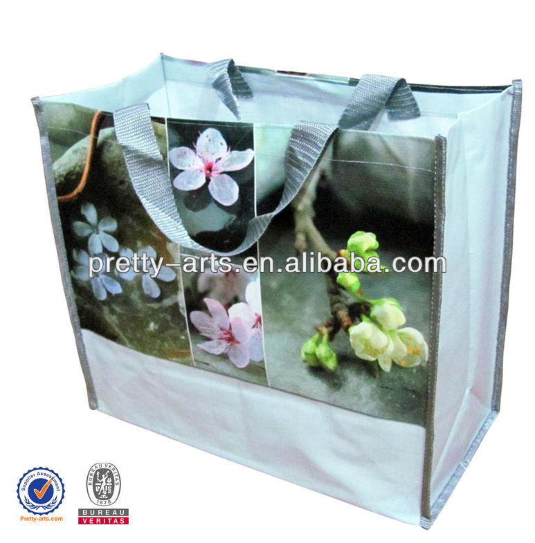 promotional reusable good quality custom non woven bag with lamination new arrive