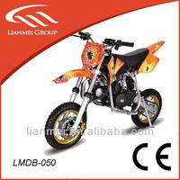 kids 50cc pocket bike/mini cross bike 50cc dirt bike for kids with CE LMDB-050