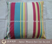 Sunbrella color strip plain scatter patio cushion