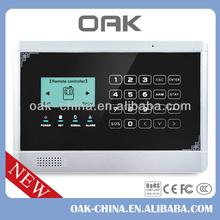 Hot!!!gsm alarm new,gsm smart security alarm system,anti-intruder alarm system