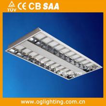 T8 louver light, 3x20w grille light, 1200x600mm grid lamp