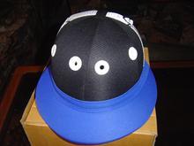 Cotton twill polo Helmet