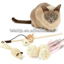 eco friendly pet cat toys set