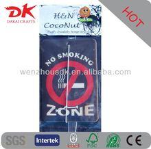 Supply high quality glass bottle shape car air freshener on sale