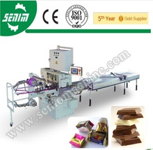 Made in China Automatic SM310 Square Dark Chocolate fold Pack sealing Machine