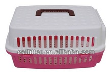 sample free high quality plastic dog or cat cage health pet carrier