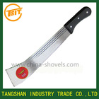 Plastic handle Cane knives hunting steel matchet
