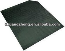 black hard plastic slip sheets for containers for shipments for cargo