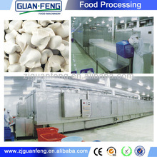 chinese dumpling processing machinery / IQFquick freeze machine