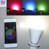 IPAD IPHONE control color changing RGBW e27 wifi led bulb