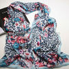 kinnting fashionable lady muffler scarf