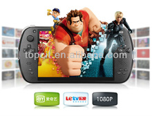 "2014 Latest 7"" Quad Core HD Game Player S7800B smart console"