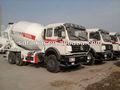 5-12 cúbicos de alta potência do caminhão betoneira