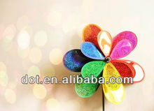 Colorful cosmetic mica powder for lips and nails