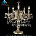 casamento moda candelabro de ouro