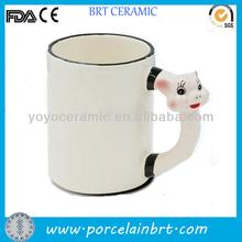 Ceramic animal mug hot selling promotion gift