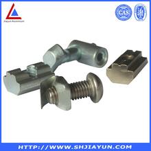 6061 6063 T5 T6 customized aluminum accessories price per kg made in china