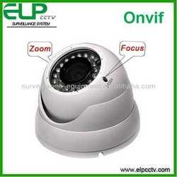 H. 264 HD onvif support CCTV outdoor & indoor Varifocal zoom and focus IP camera Dome ELP-IP5100VD