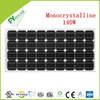 140W Mono Solar Panel With CE/IEC/TUV/ISO Approval Standard